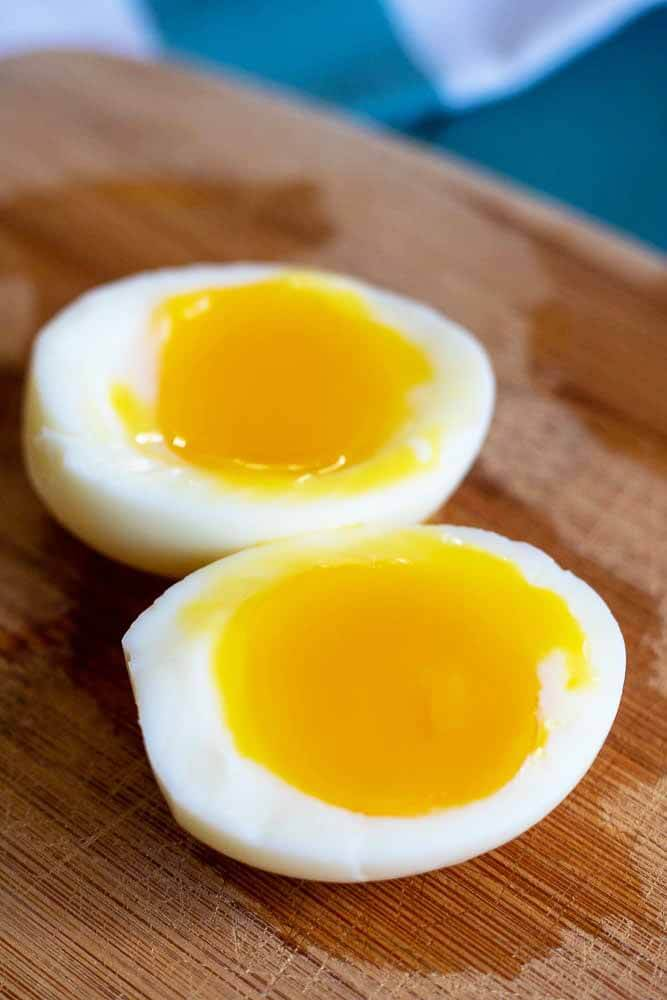 Soft-boiled eggs help constipation